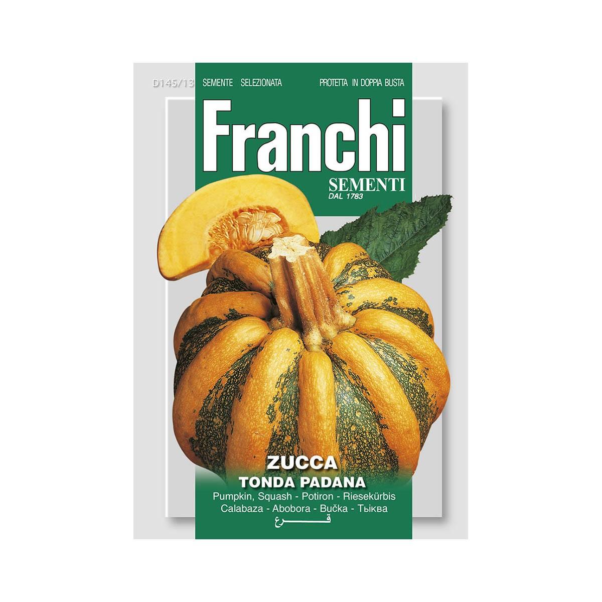 Semi Zucca Tonda Padana