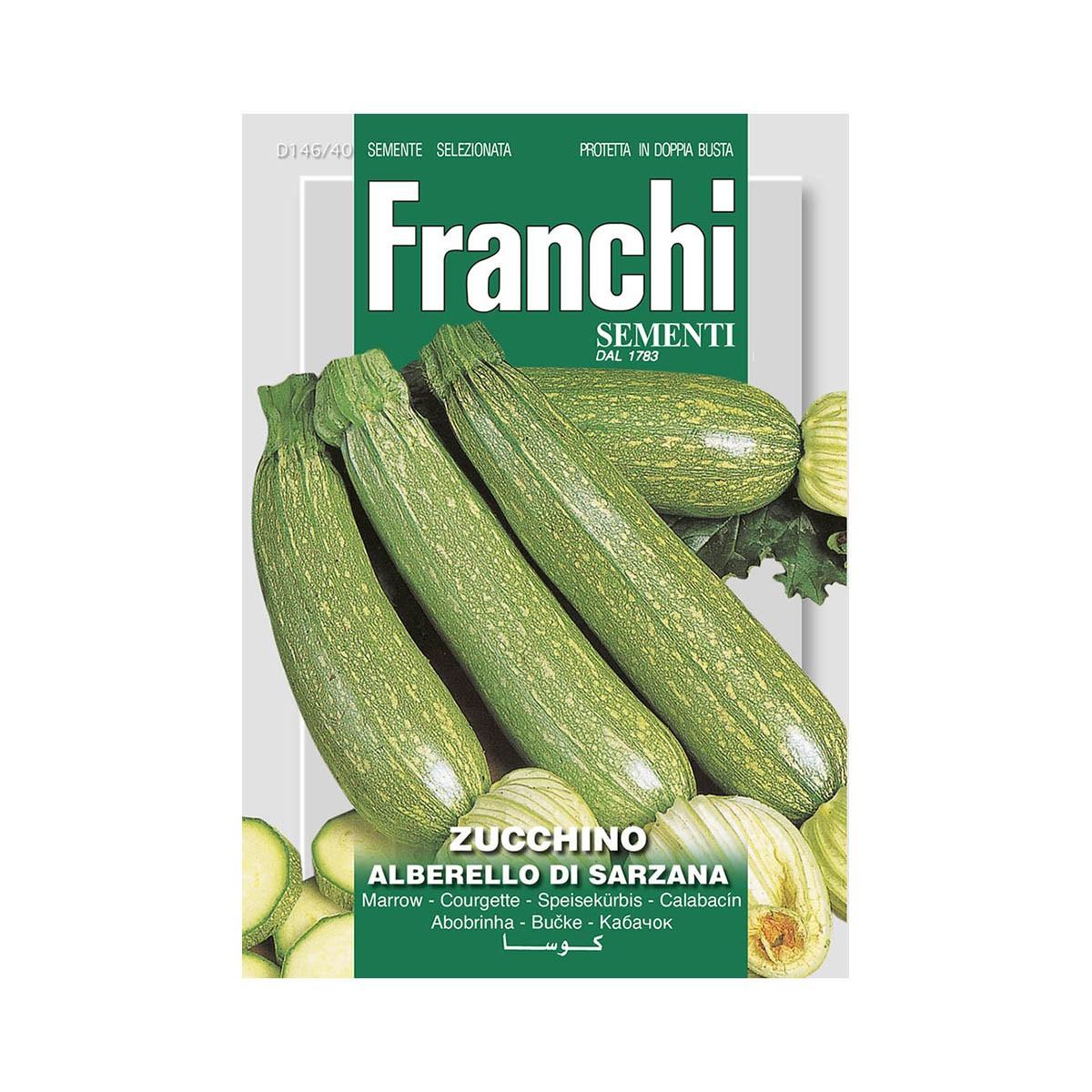 Semi Zucchino Alberello Di Sarzana