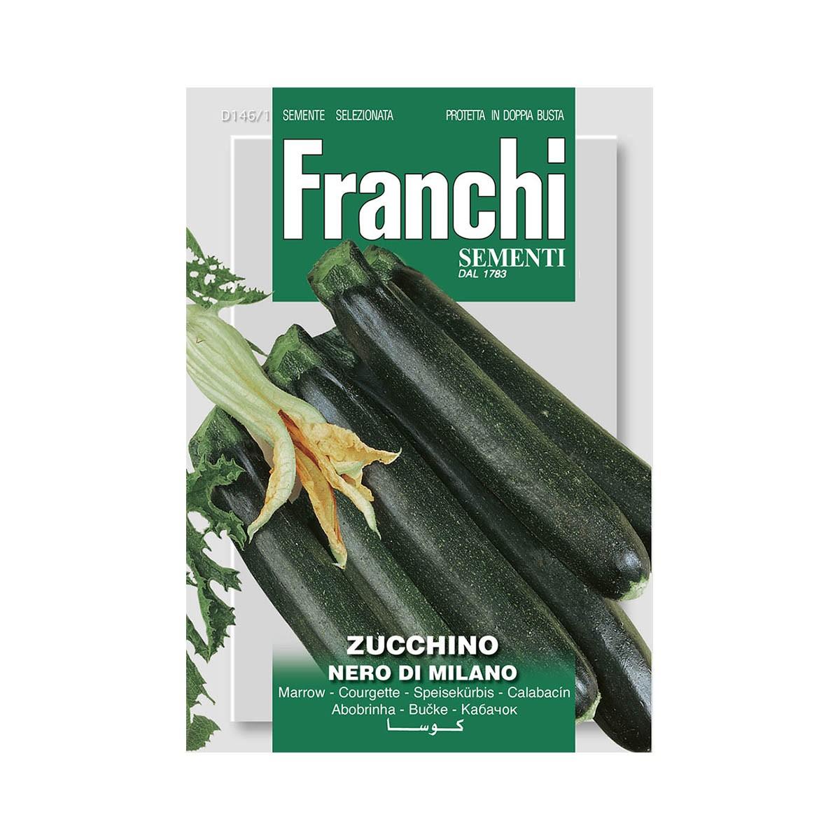 Semi Zucchino Nero Di Milano
