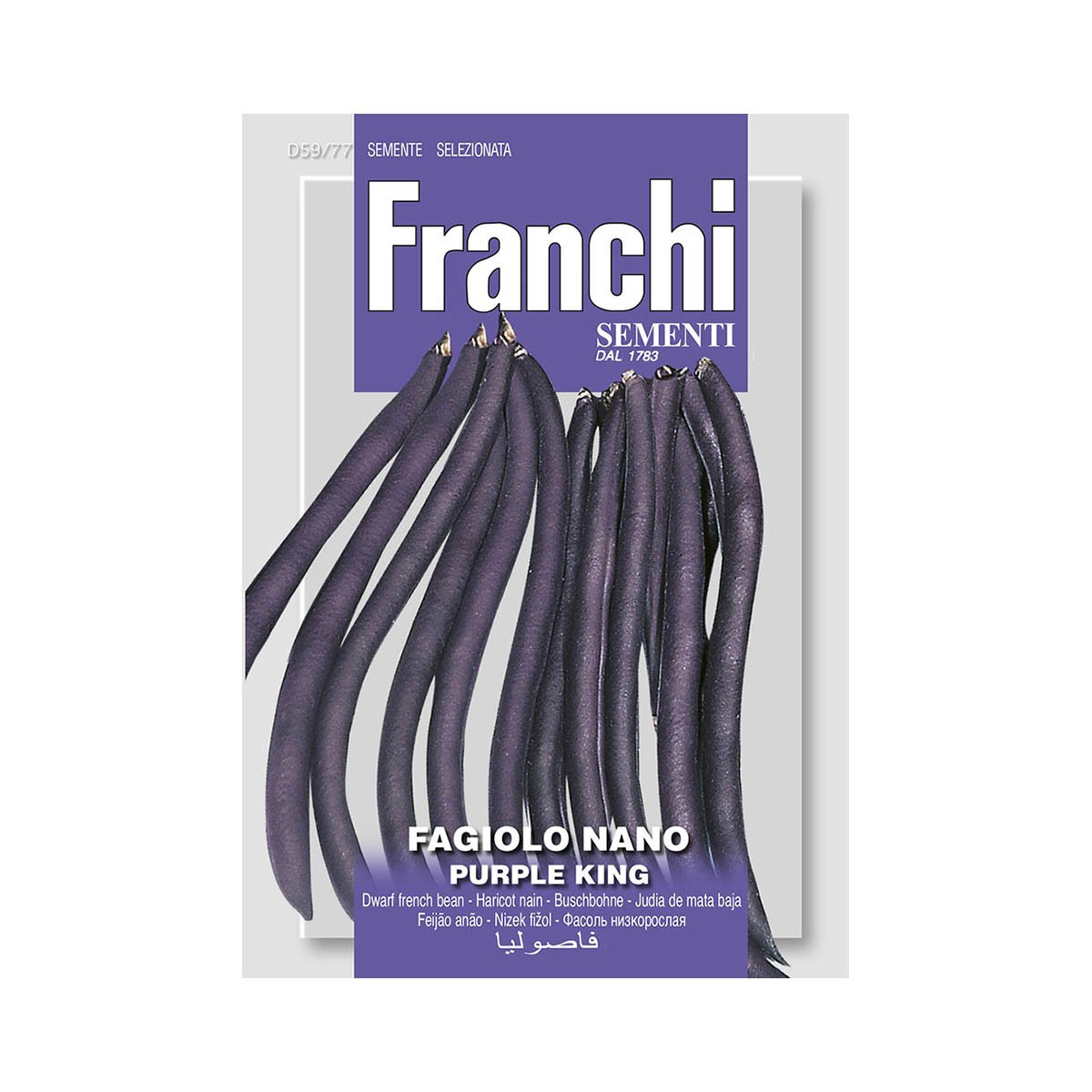 Semi Fagiolo Purple King