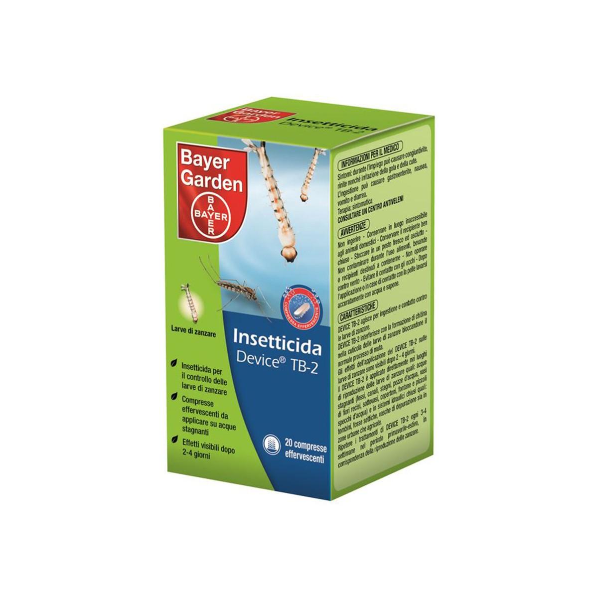 Insetticida Device Tb-2 20 Pastiglie