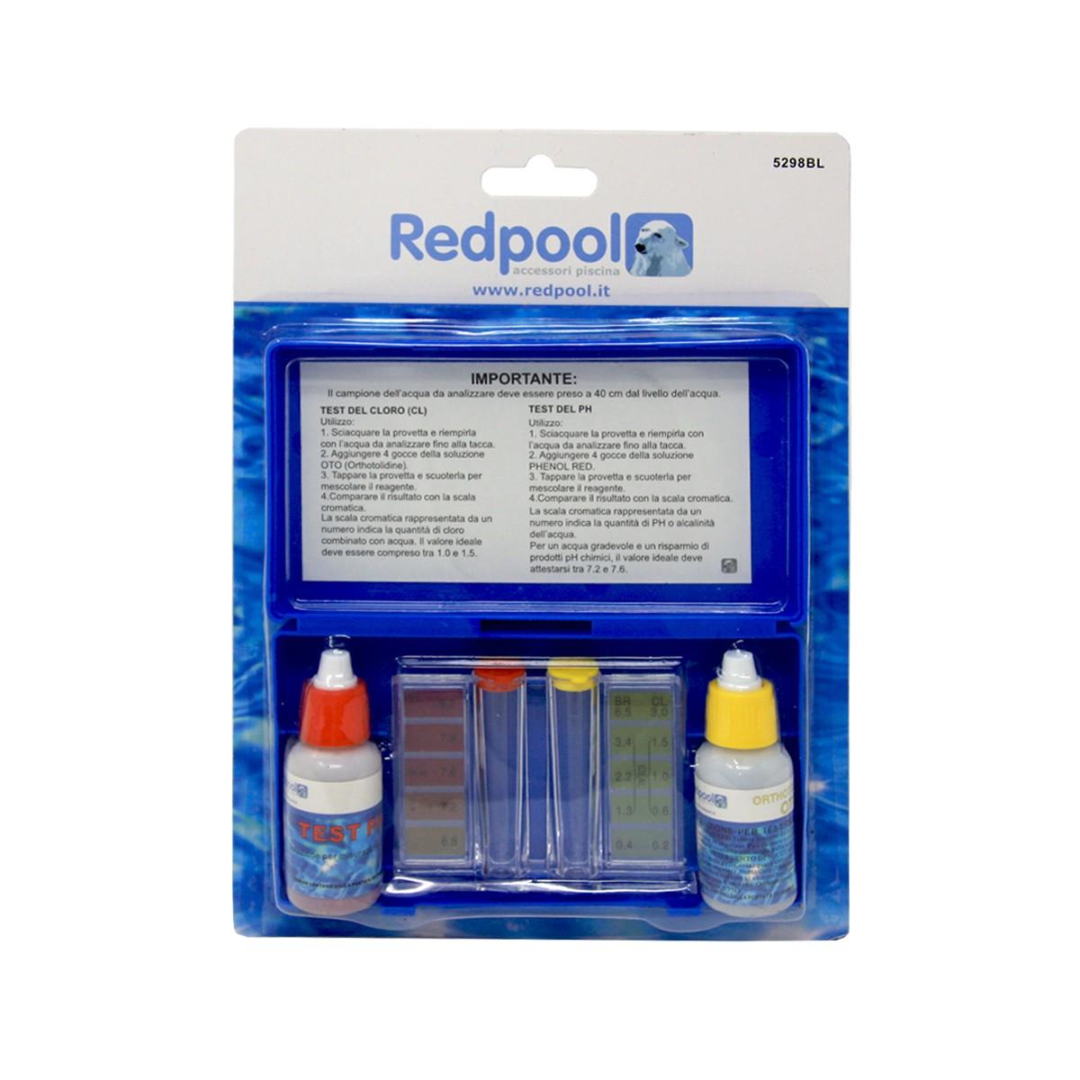 Kit Test Cloro Ph-liquido