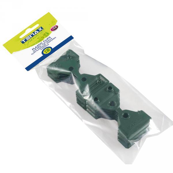 Queste Clips Sono Utilissime Per Il Fissaggio Delle Reti Tessute, Schermanti O Ombreggianti. Misurano 5 Cm E La Confezione Contiene 12 Pezzi. Di Colore Verde, Resistono Ai Raggi Uv.