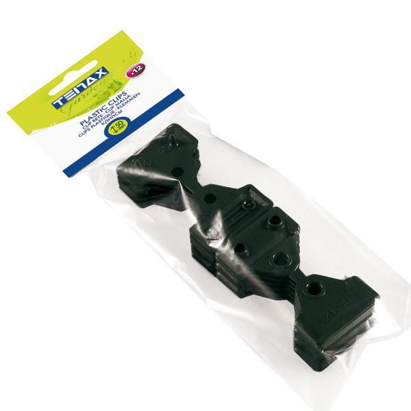 Queste Clips Sono Utilissime Per Il Fissaggio Delle Reti Tessute, Schermanti O Ombreggianti. Misurano 5 Cm E La Confezione Contiene 12 Pezzi. Di Colore Nero, Resistono Ai Raggi Uv.
