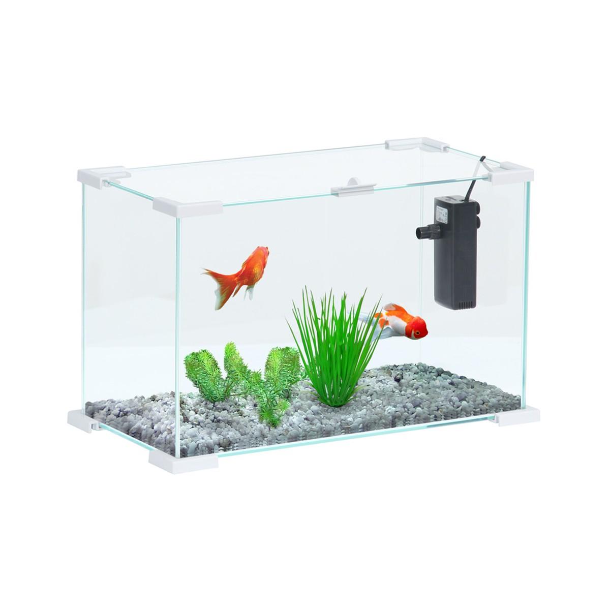Acquario Nano Life Bianco 40 Cm