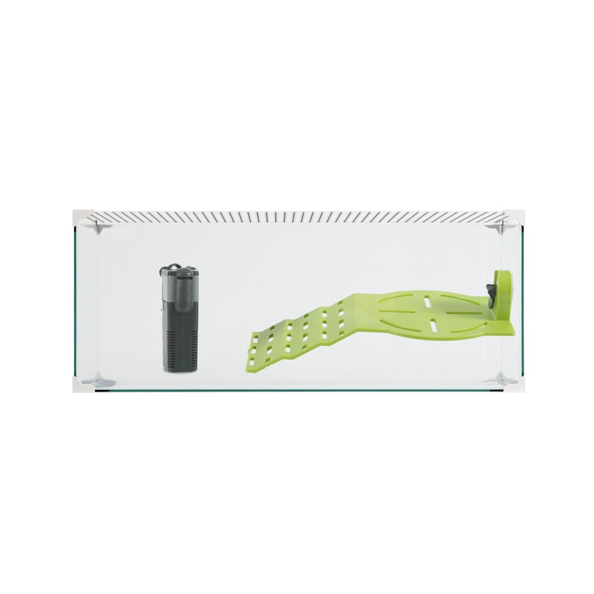 Tartarughiera Karapas Aqua Bianca 50 Cm
