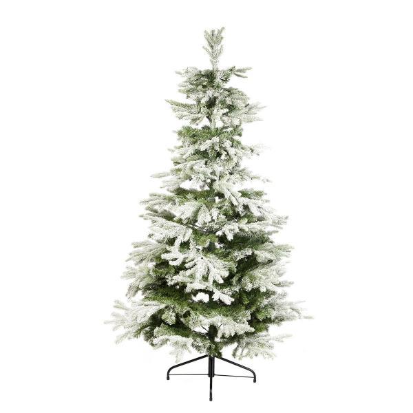 Abete Artificiale Sunndal, Verde E 'ghiacciato', Disponibile In Diverse Altezze. Questo Prodotto Ha Un Bellissimo Effetto 'frosted' Per Un Natale Glaciale.