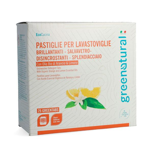 Eco Detergente Per Lavastoviglie - 25 Greentabs