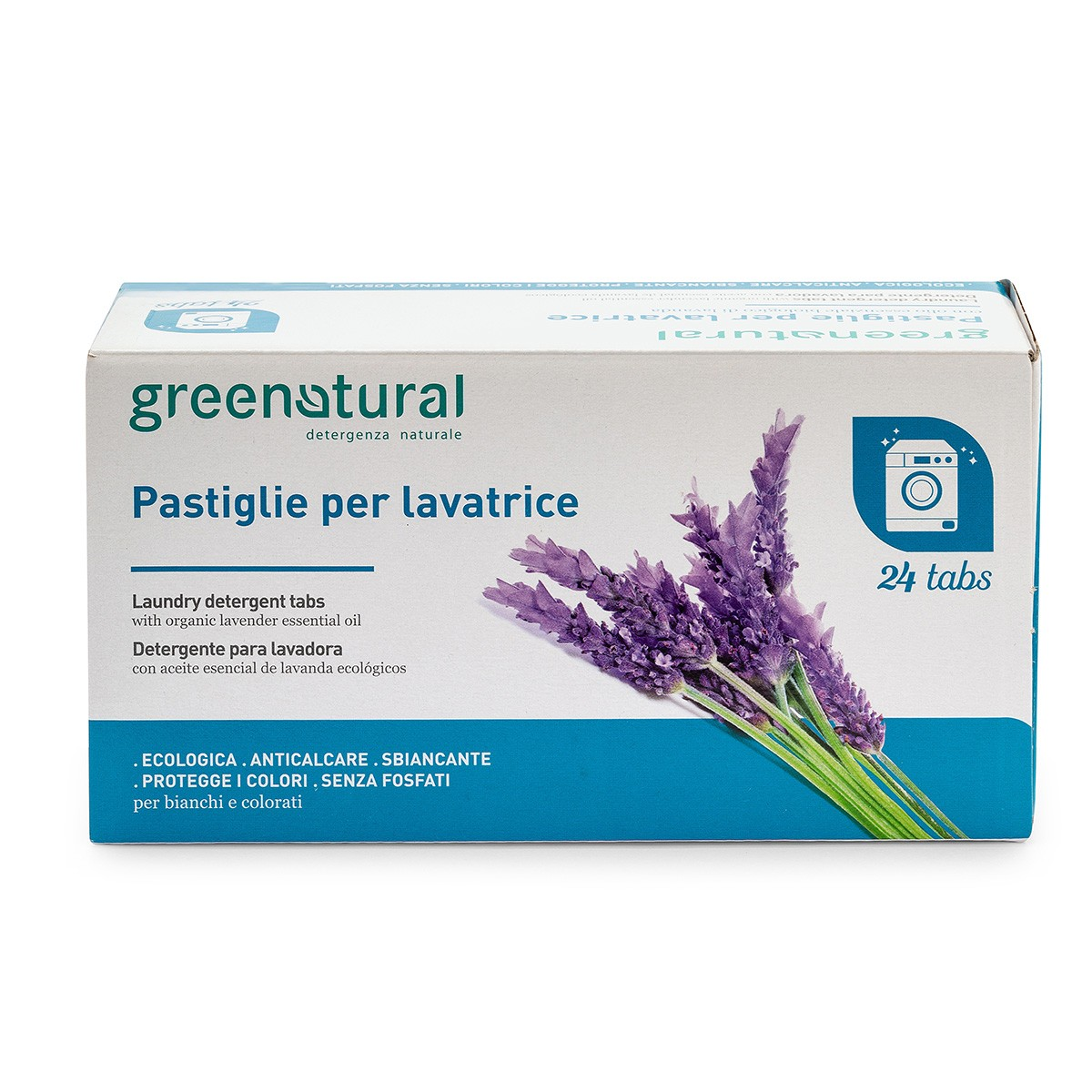 Eco Detergente Bucato In Pastiglie - 24 Greentabs