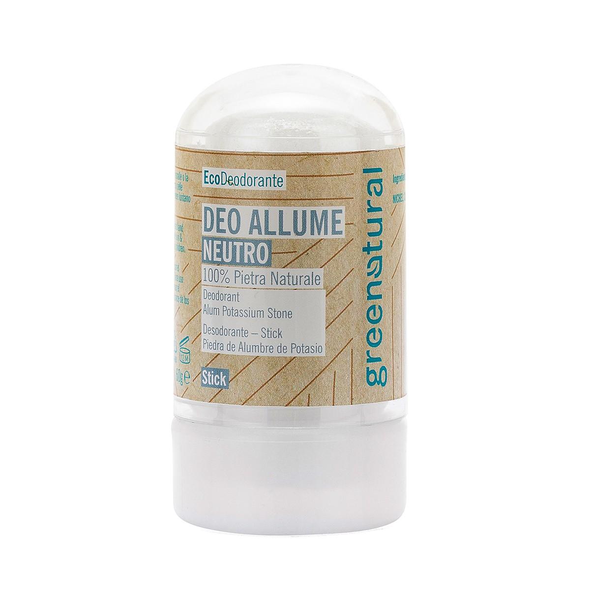 Eco Deodorante Stick Allume Di Potassio