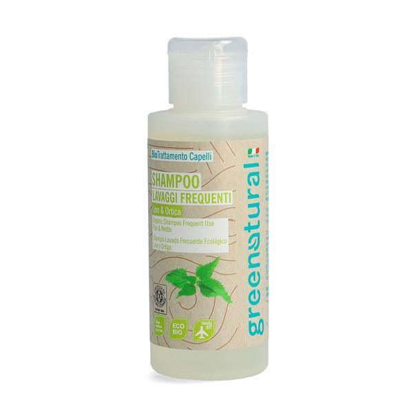 Shampoo Lavaggi Frequenti Al Lino & Ortica - 100 Ml