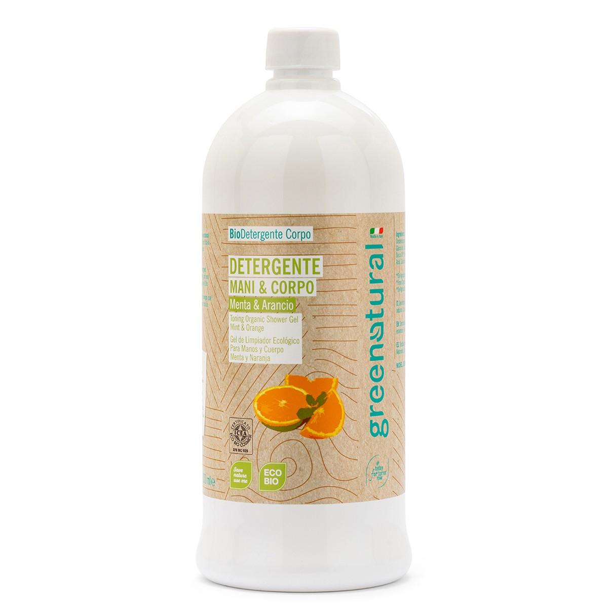 Detergente Mani E Corpo Menta & Arancio - 1 Litro