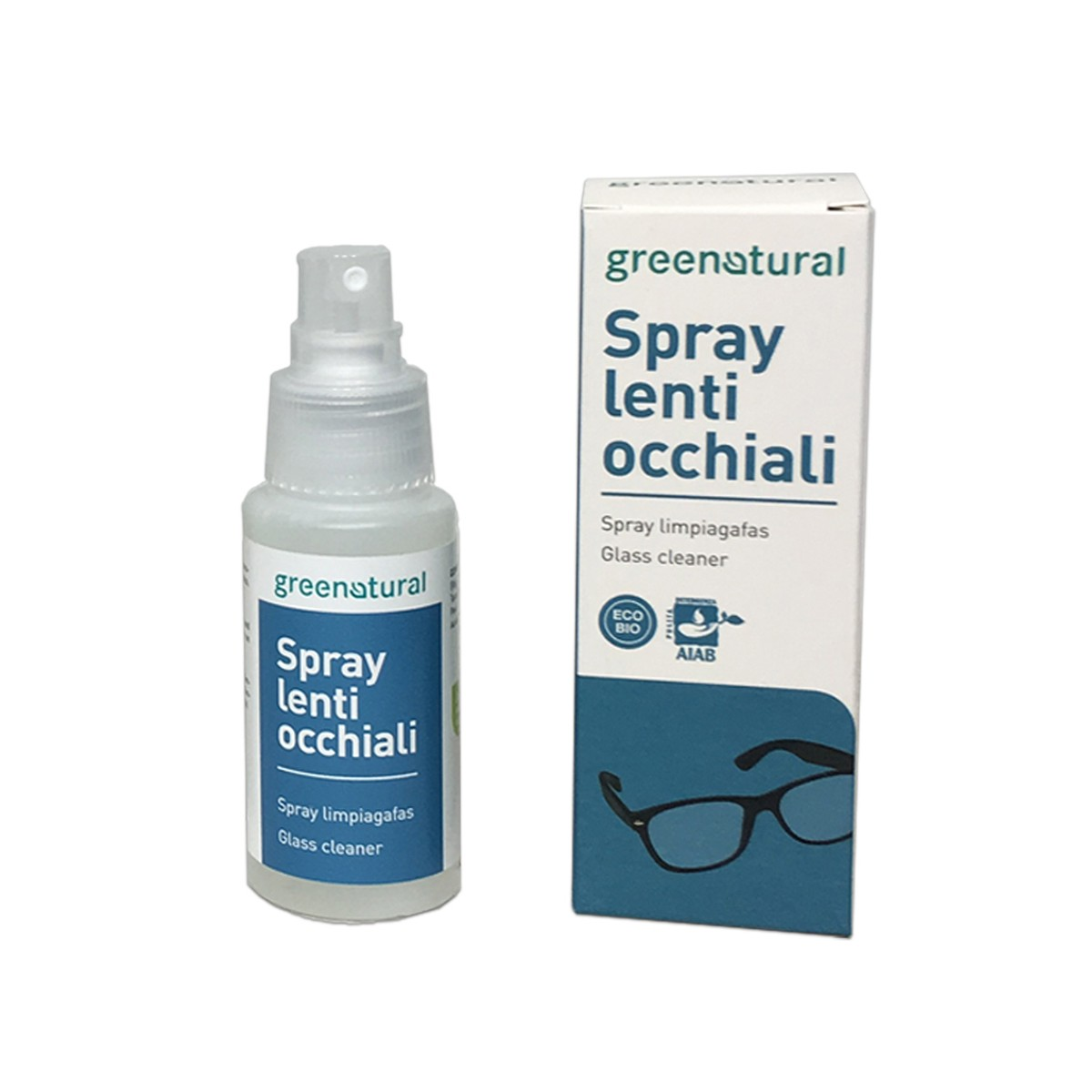 Bio Detergente Spray Per Occhiali