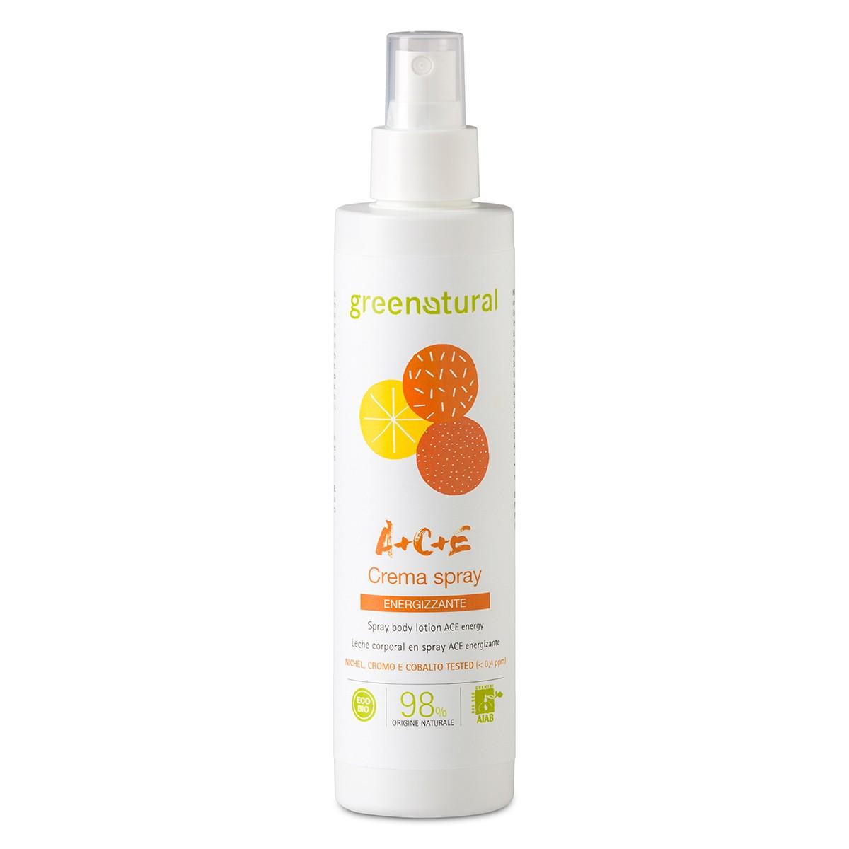 Crema Spray Corpo Multivitamine A+c+e
