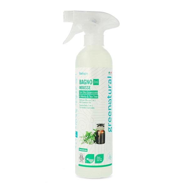 Bio Detergente Bagno – Mousse & Spray 2 In 1