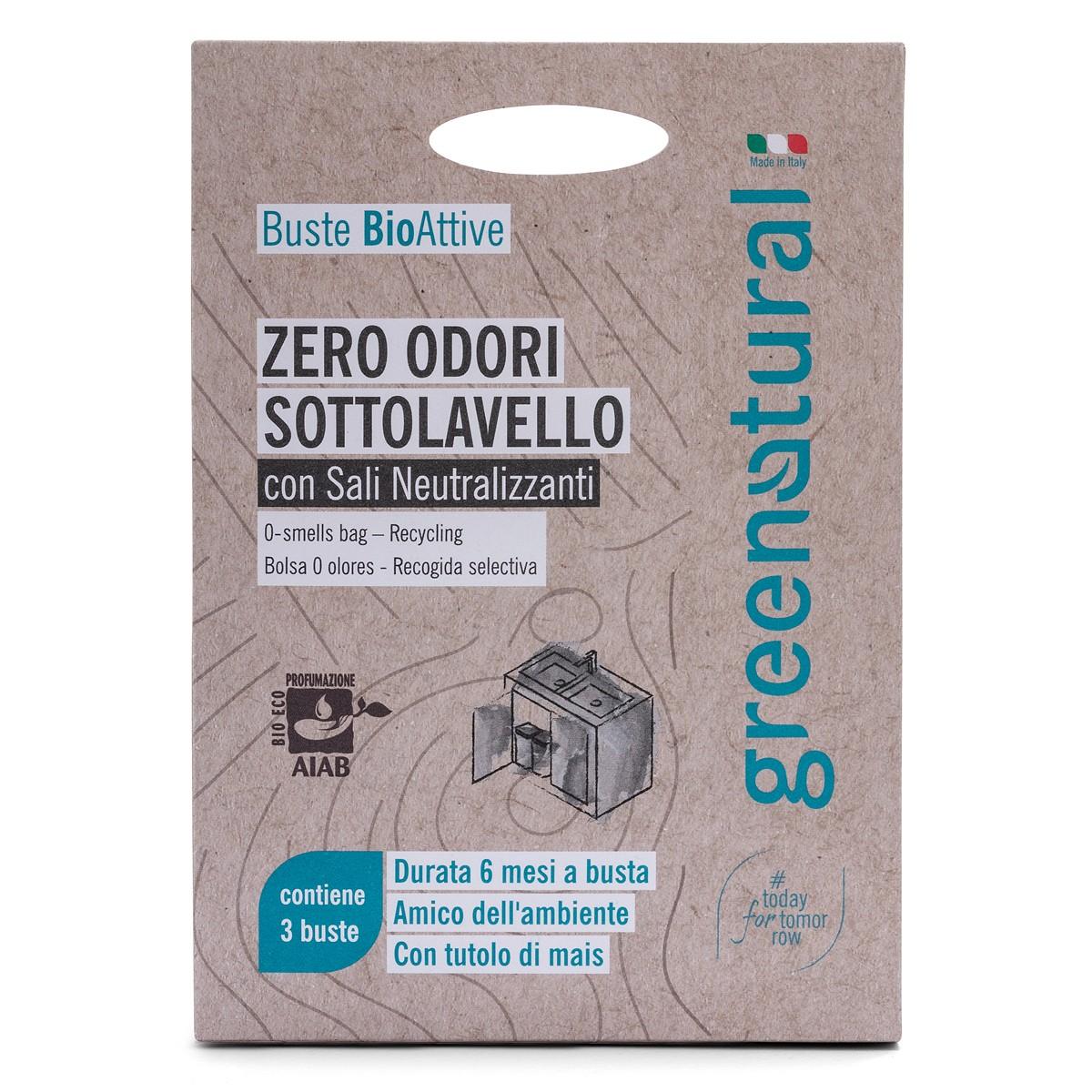 Buste Bioattive Zero Odori Sottolavello