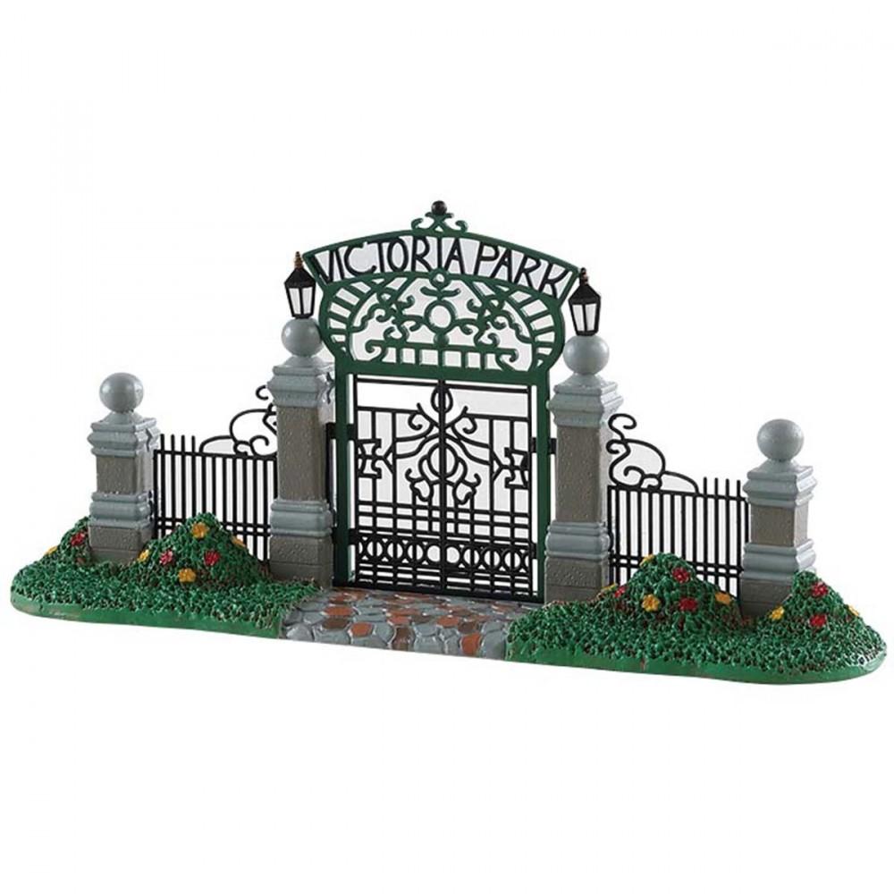 Cancello Di Ingresso 'victoria Park Gateway' Di Lemax. In Stile Vittoriano E Ricco Di Dettagli, è In Perfetto Stile Vittoriano.
