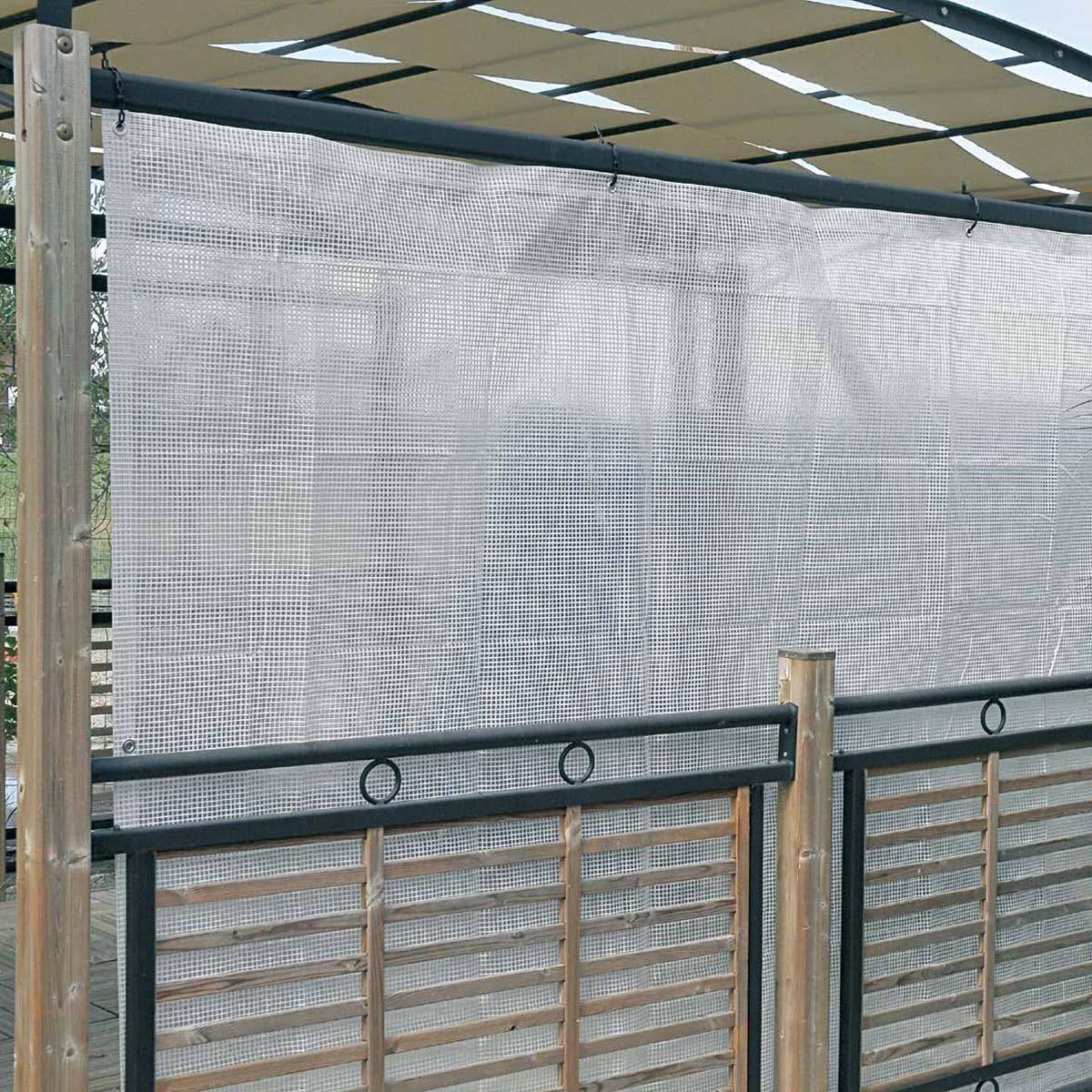 Telo Trasparente Occhiellato 2 X 3 M