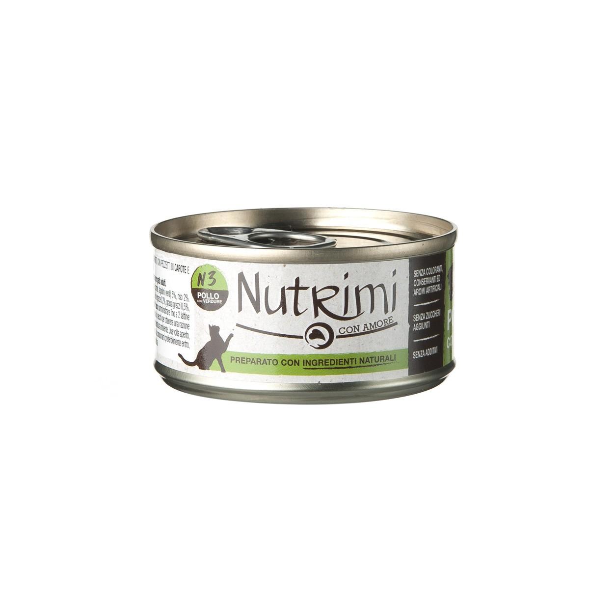 Nutrimi Natural Al Pollo Con Verdure