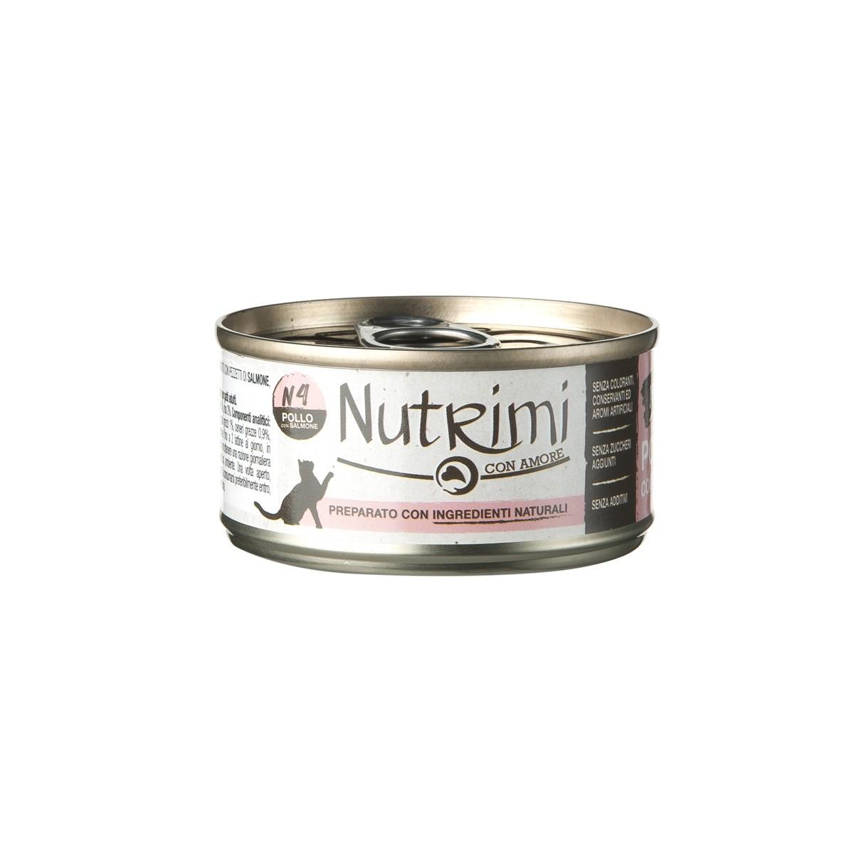 Nutrimi Natural Al Pollo Con Salmone
