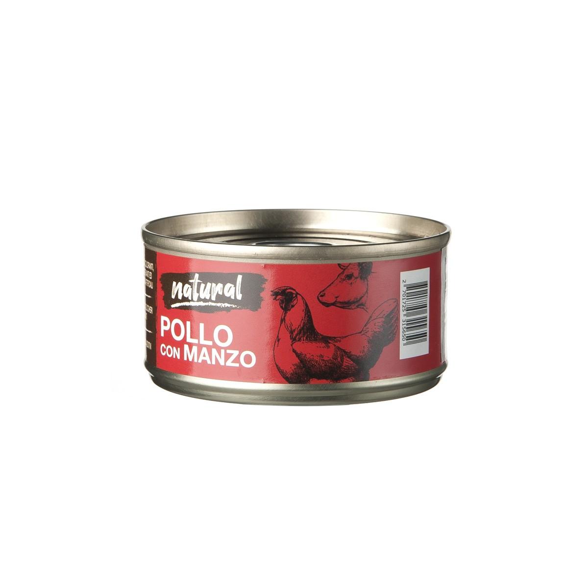 Nutrimi Natural Al Pollo Con Manzo