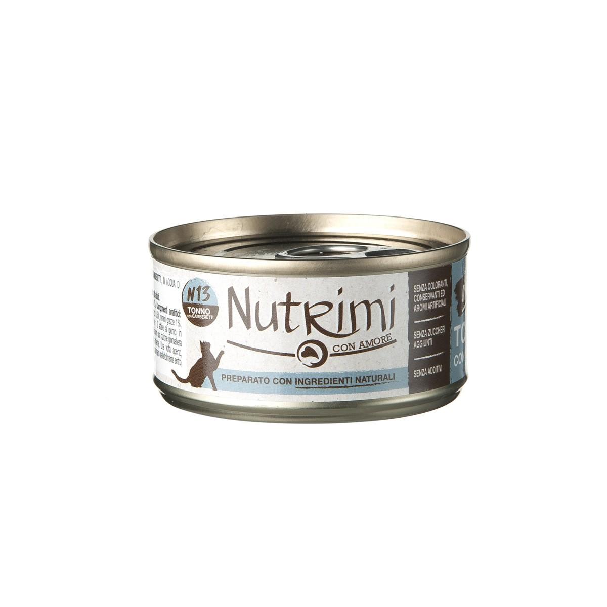 Nutrimi Natural Al Tonno Con Ga;beretti