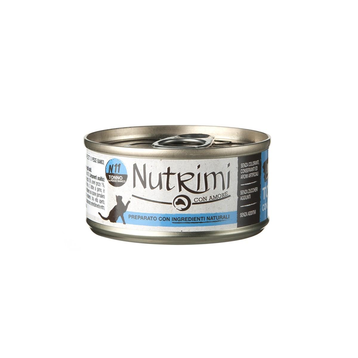 Nutrimi Natural Al Tonno Con Pesce Bianco