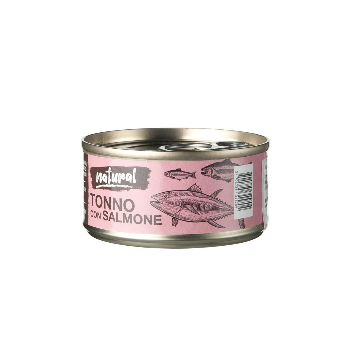 Nutrimi Natural Al Tonno Con Salmone