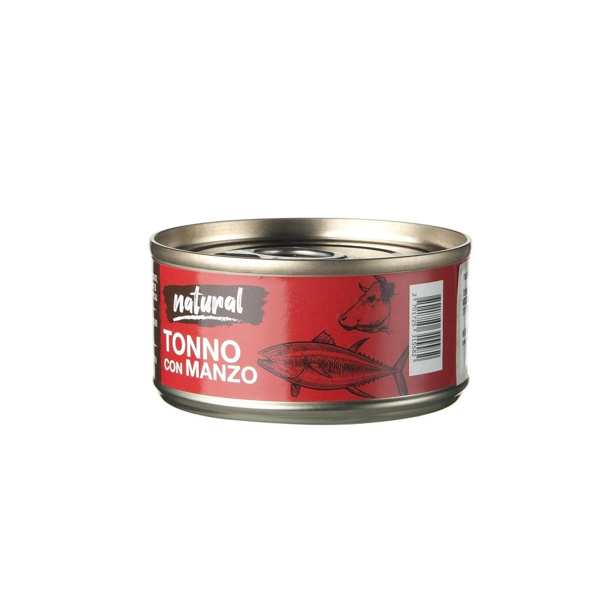Nutrimi Natural Al Tonno Con Manzo