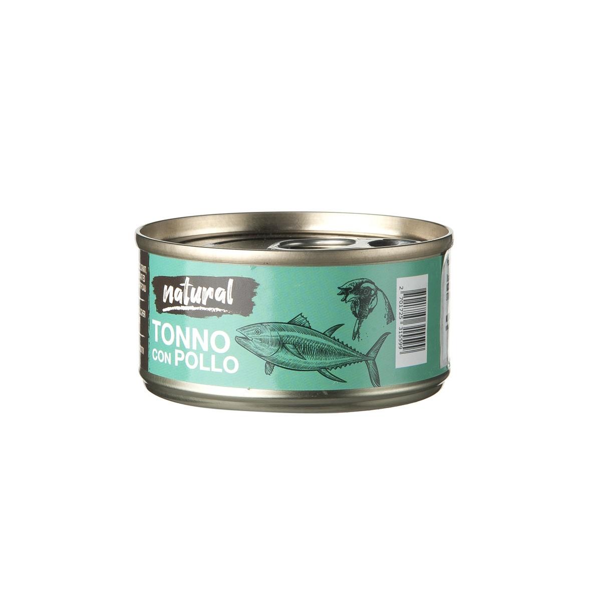 Nutrimi Natural Al Tonno Con Pollo