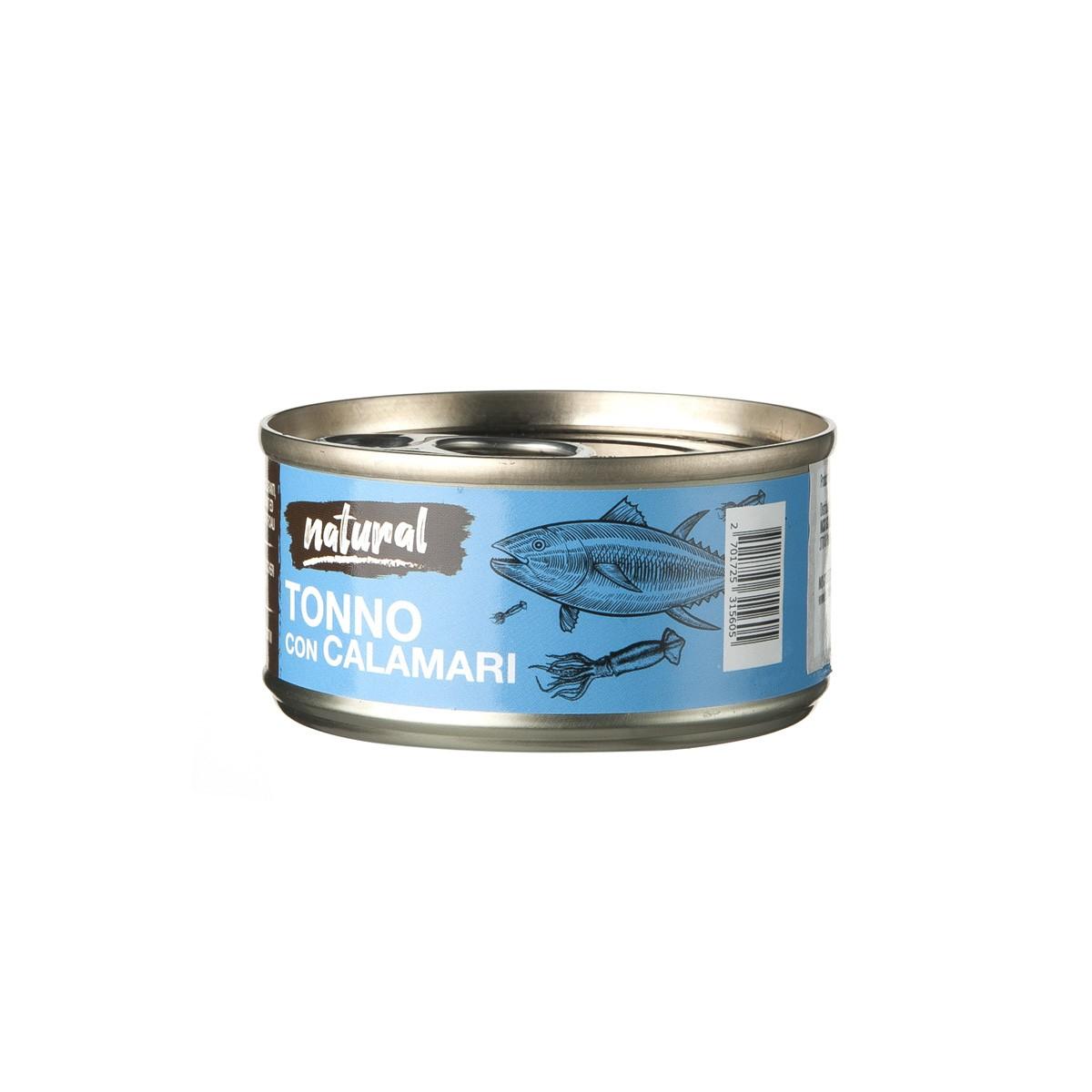 Nutrimi Natural Al Tonno Con Calamari