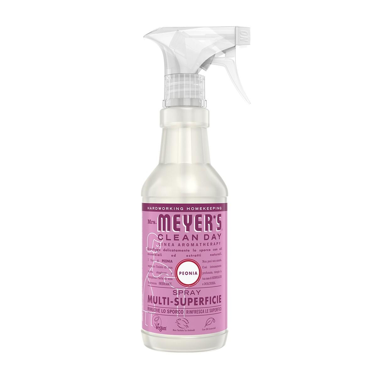 Mrs Meyer's Spray Detergente Peonia