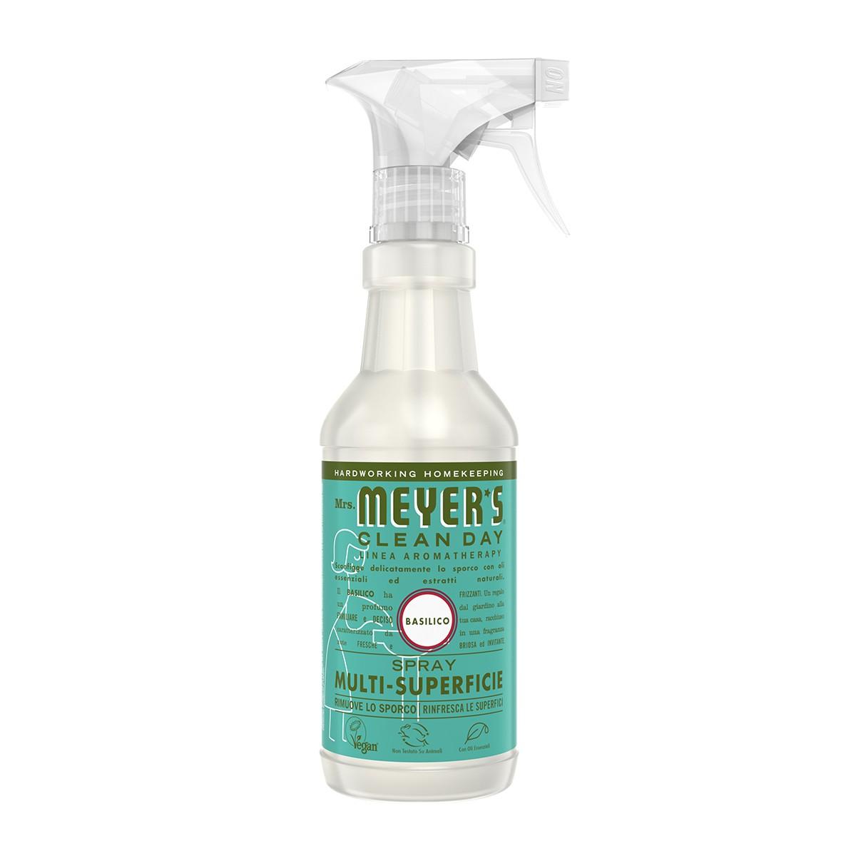 Mrs Meyer's Spray Detergente Basilico