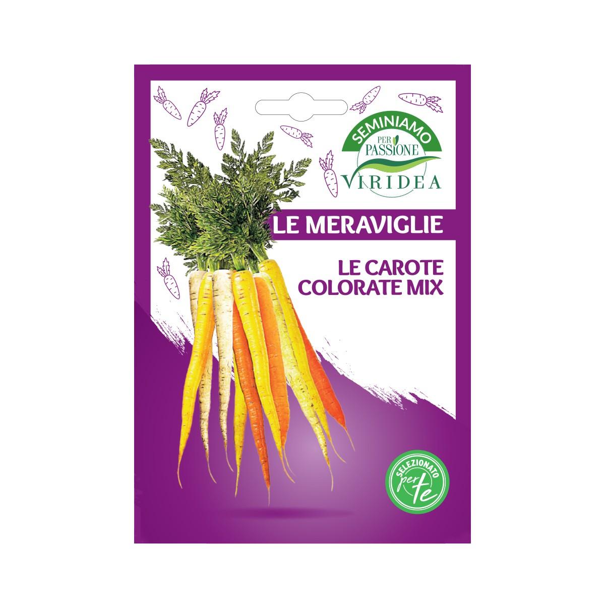 Mix Semi Carote Colorate Viridea