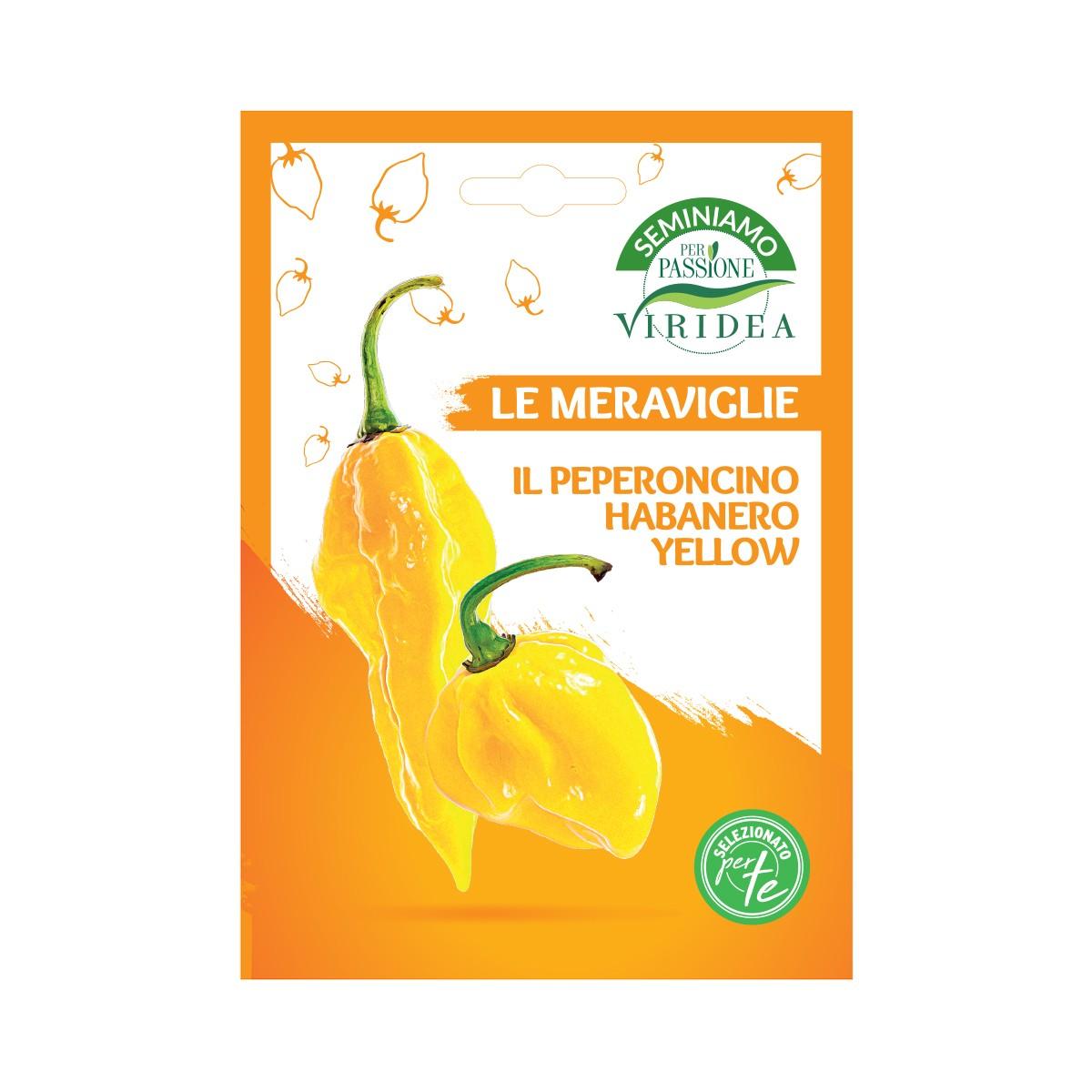 Semi Peperoncino Habanero Yellow Viridea