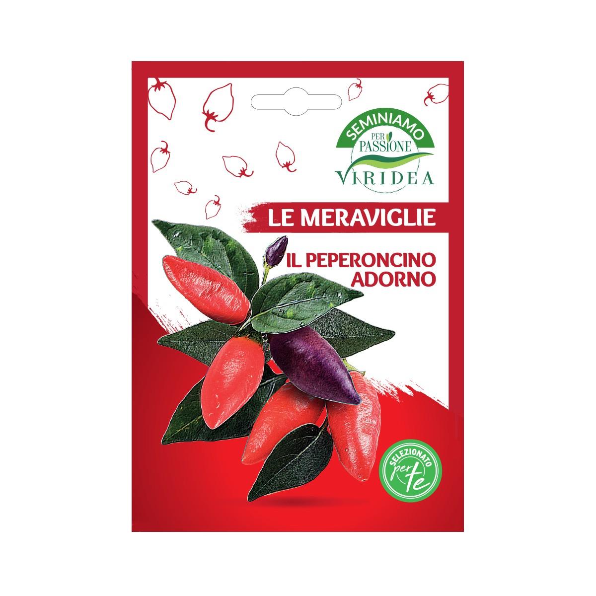 Semi Peperoncino Adorno Viridea