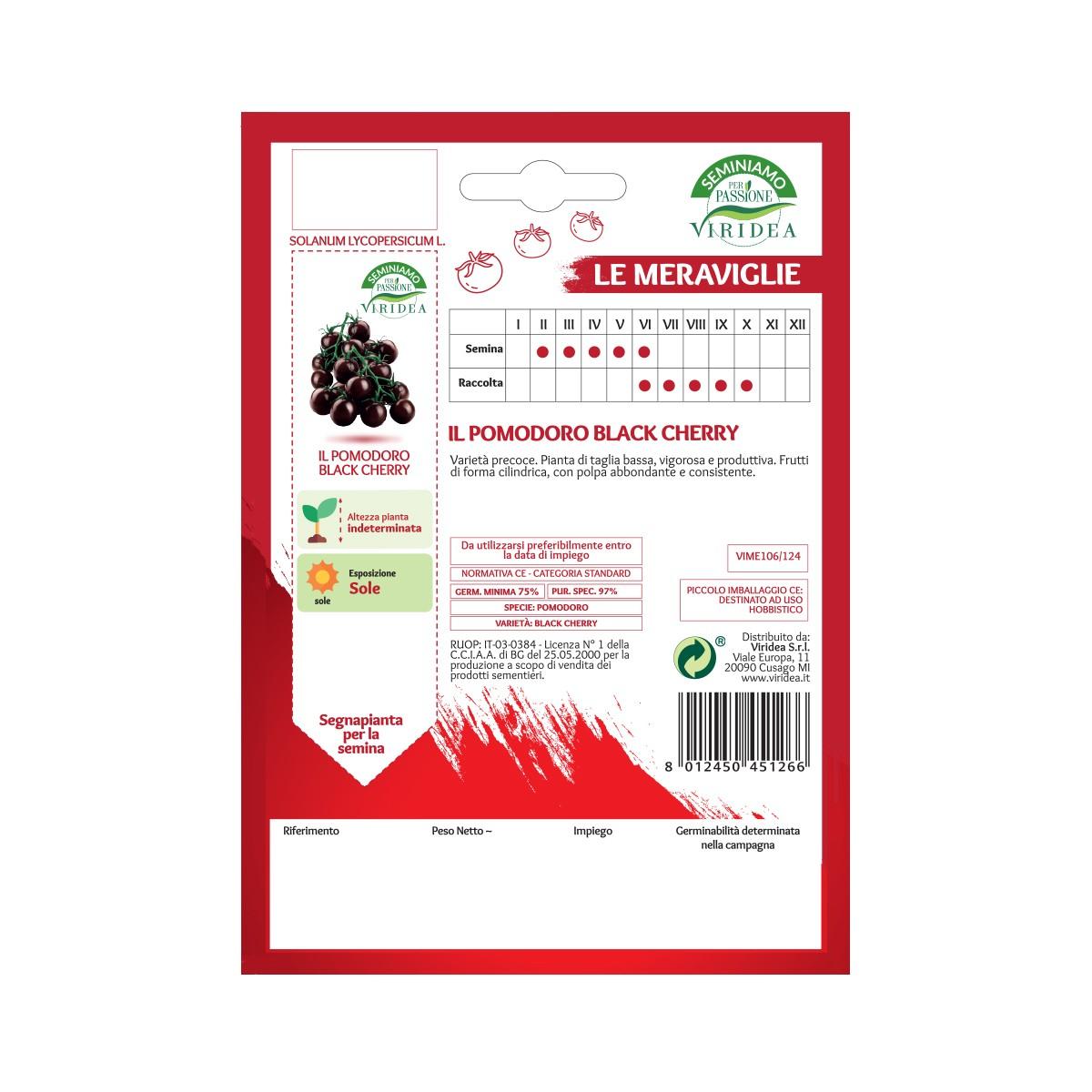 Semi Pomodoro Black Cherry Viridea