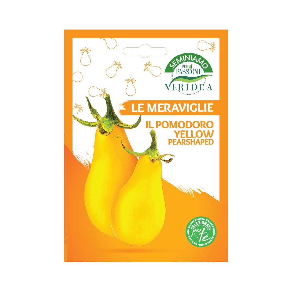Semi Pomodoro Yellow Pearshaped Viridea