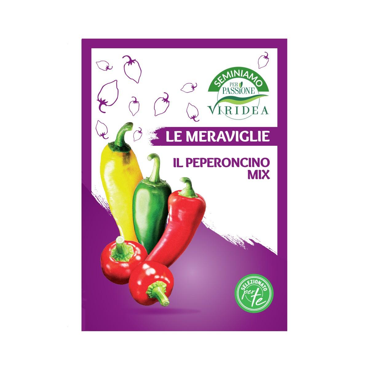 Mix Semi Di Peperoncino Viridea