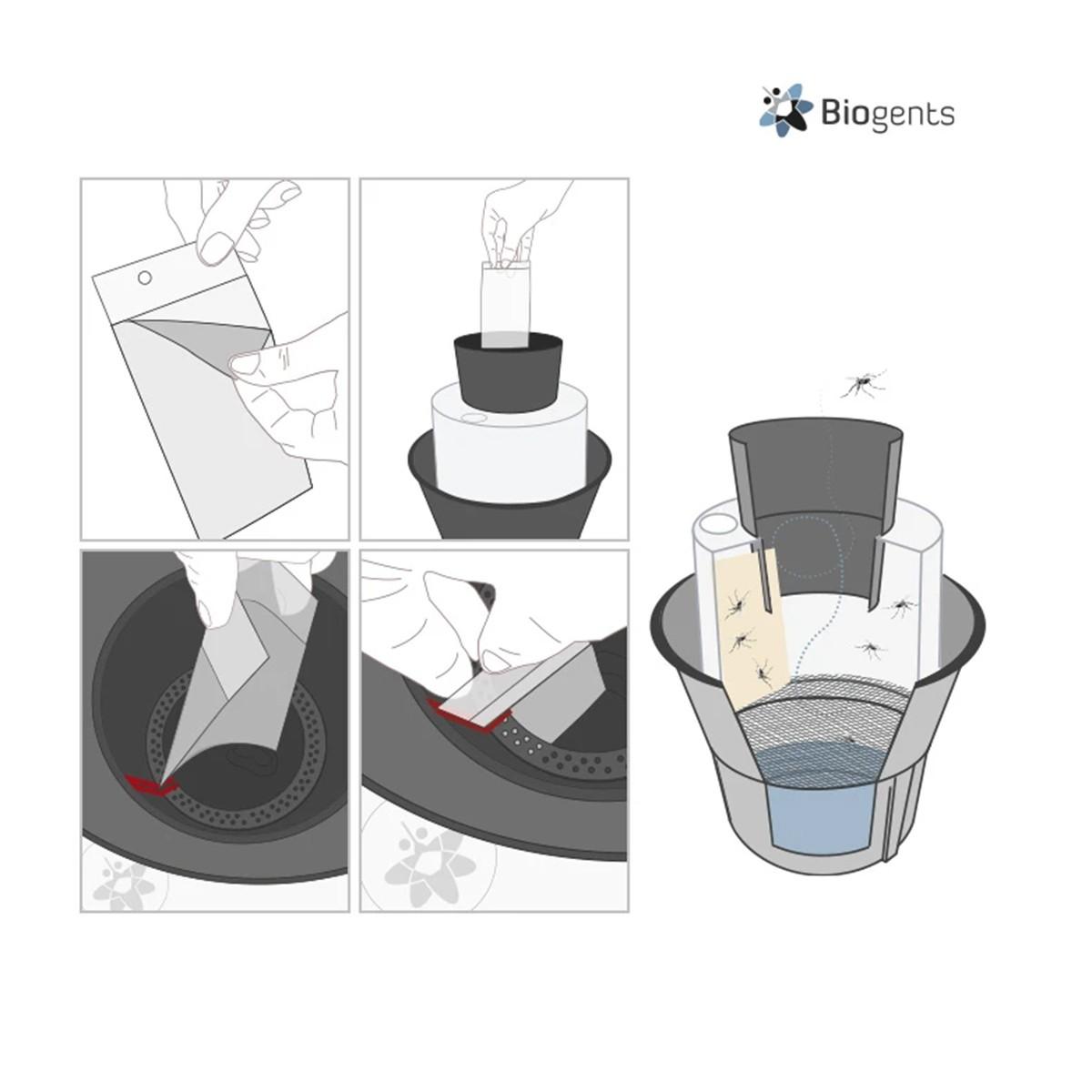 Fogli Adesivi Per Trappola Per Zanzare Bg-gat2 Biogents