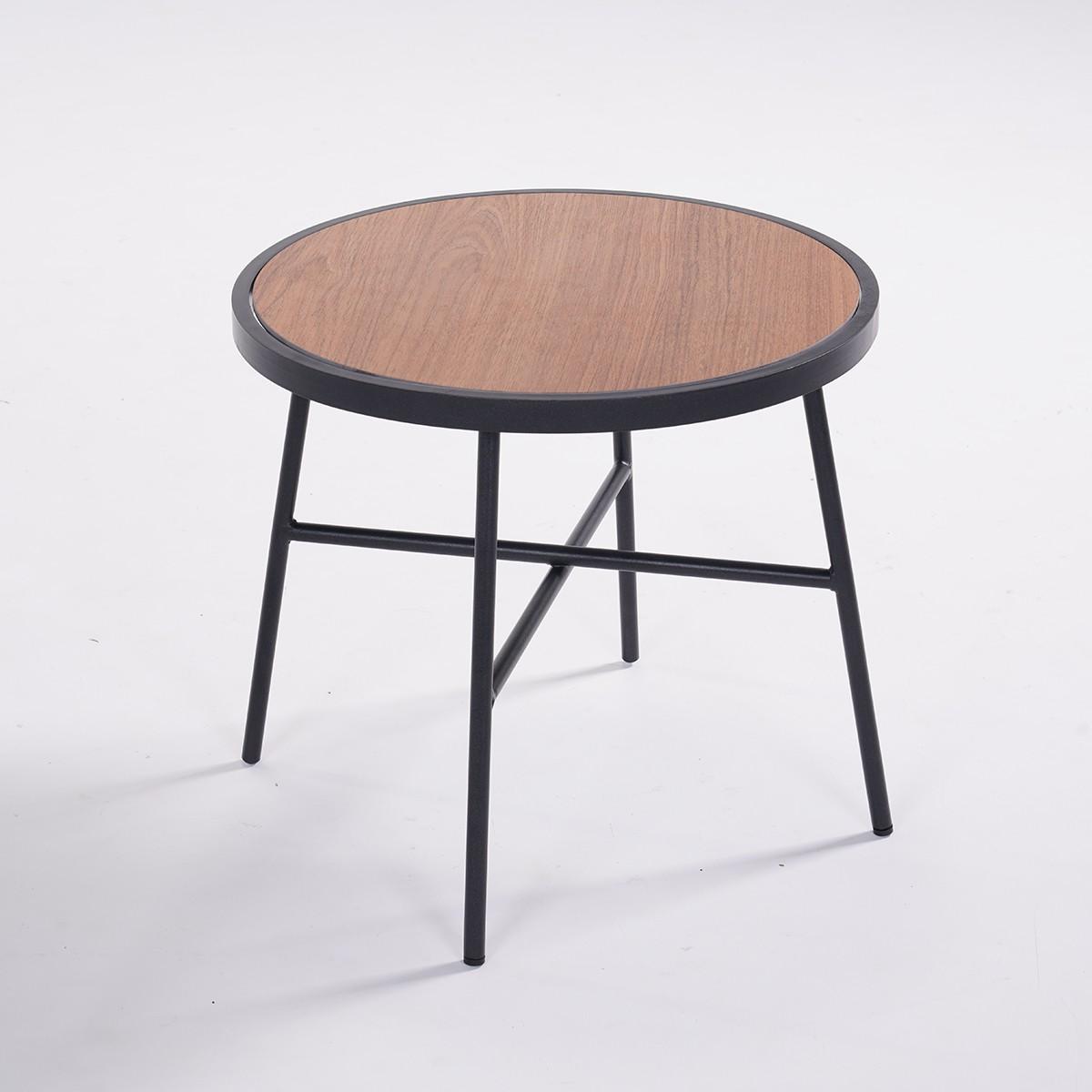 Set Relax Da Esterno Tavolino Rotondo E Poltrone Per 2 Persone Greta