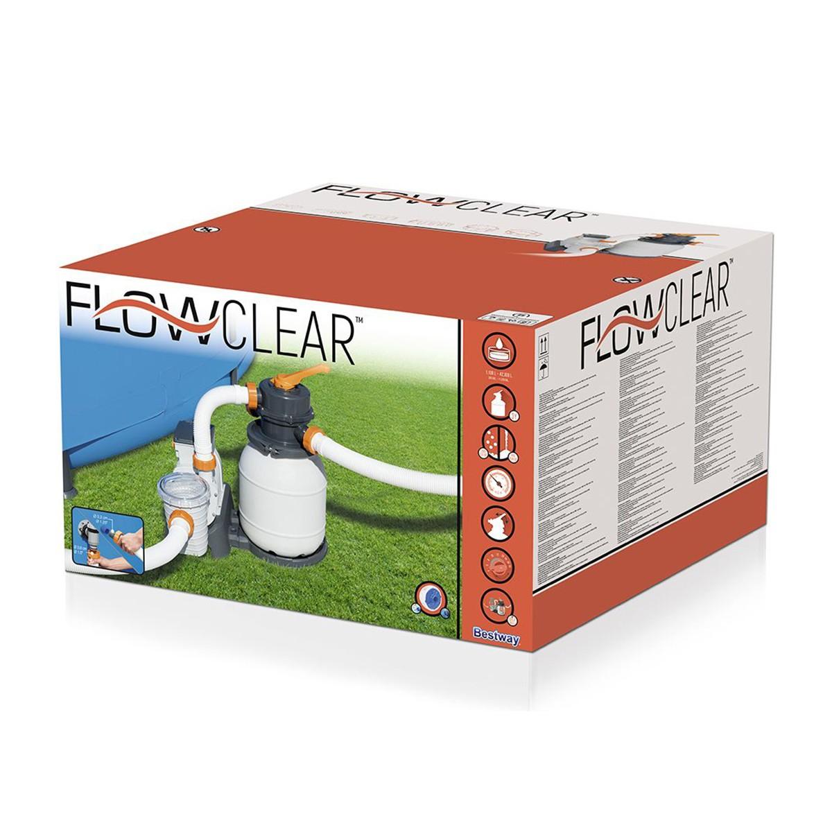 Bestway Filtro A Sabbia Flowclear Da 5.678 L/h