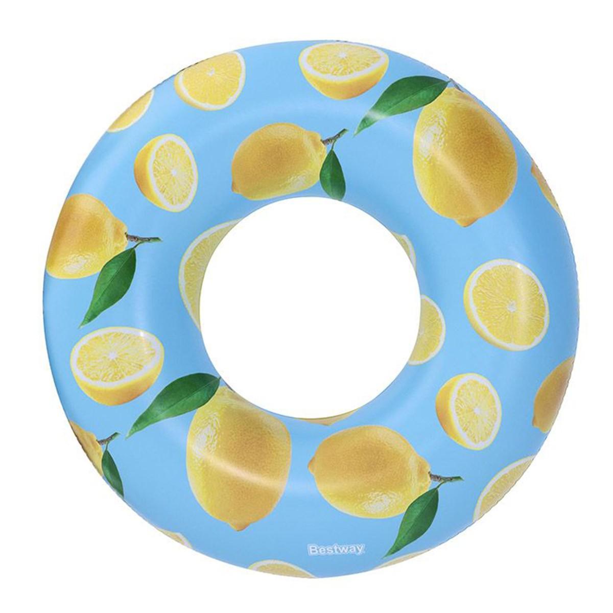 Bestway Ciambella Salvagente Con Limoni E Profumata 119 Cm