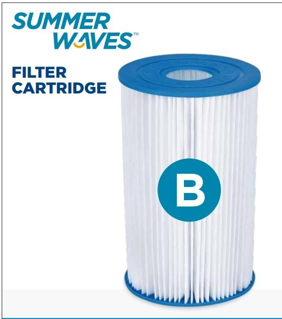 Summer Waves Cartuccia Filtro Cartridge B