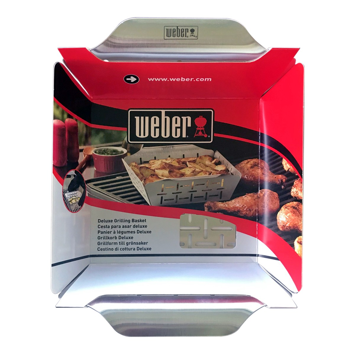 Weber Cestino Per La Cottura Deluxe
