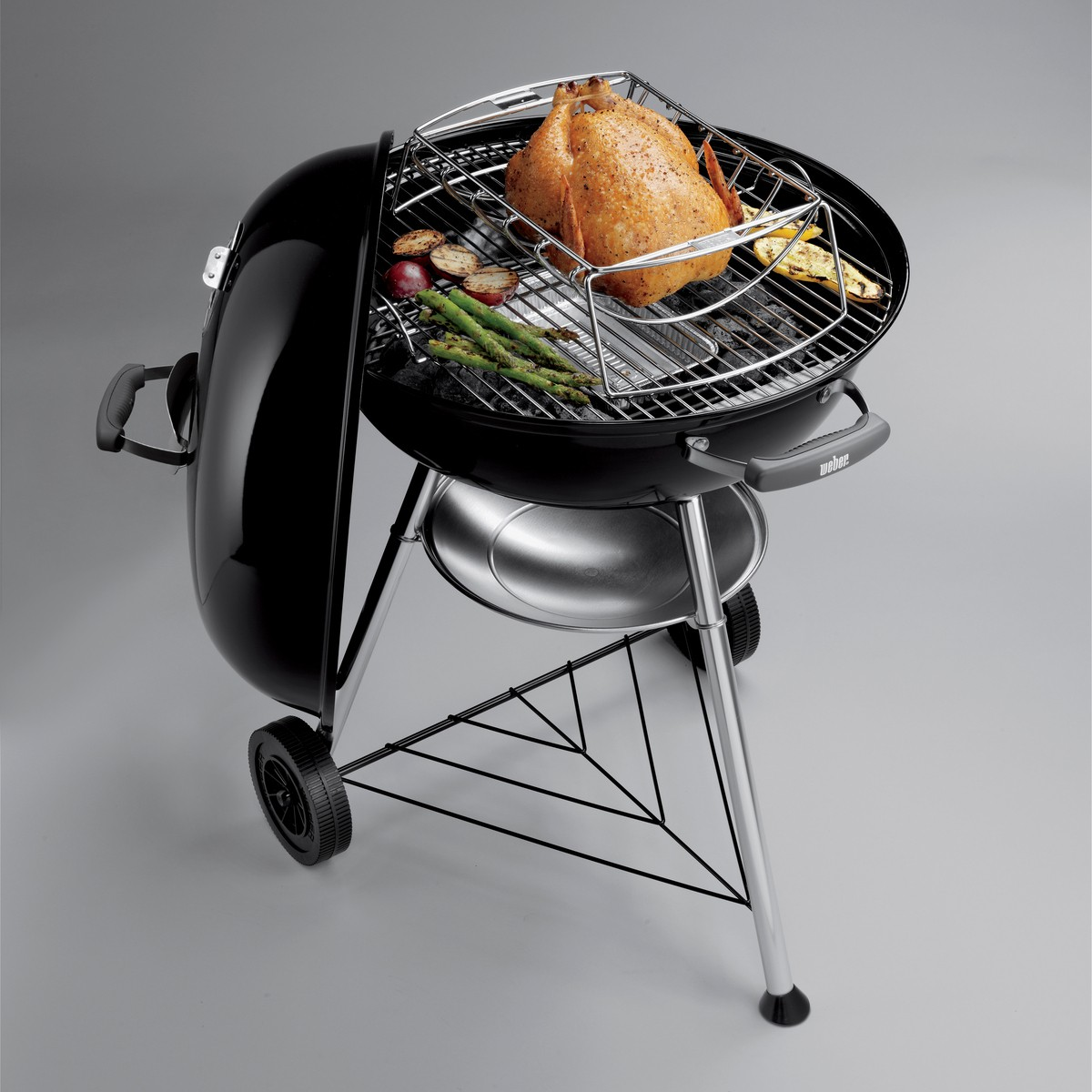 Weber Barbecue A Carbone Compact 57 Cm Black