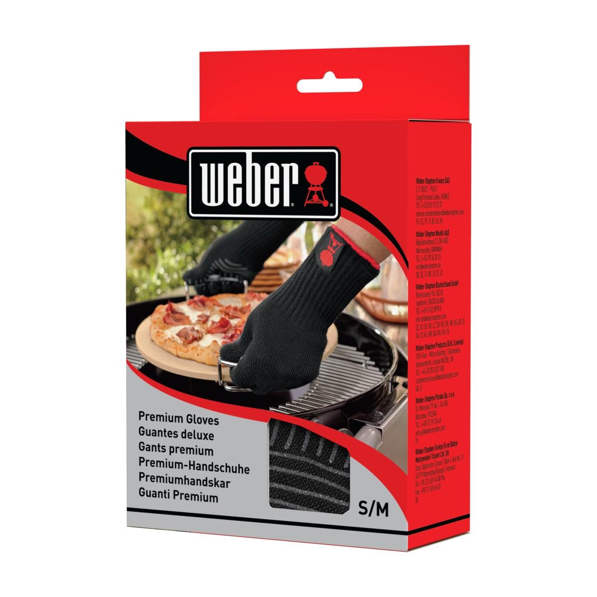 Weber Guanti Premium Taglia S/m