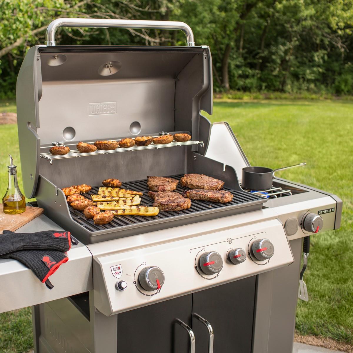Weber Barbecue A Gas Genesis Ii Ep-335