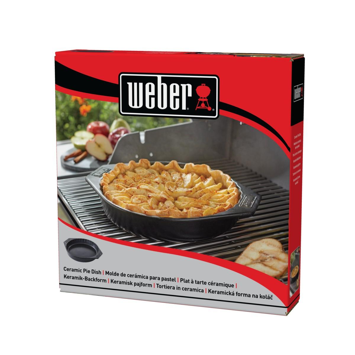 Weber Tortiera In Ceramica Per Barbecue