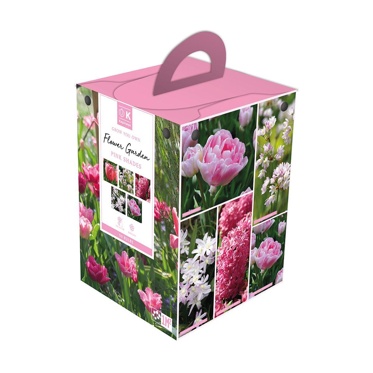 Flower Garden Box Pink